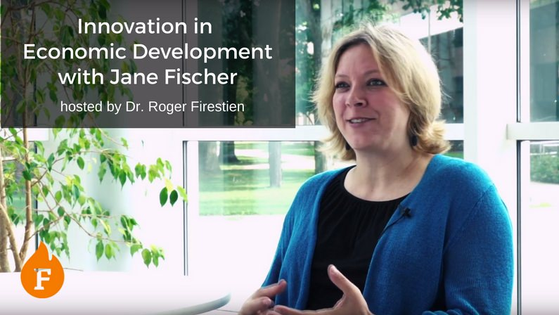 Innovation in Economic Development with Jane Fischer hosted by Dr. Roger Firestien