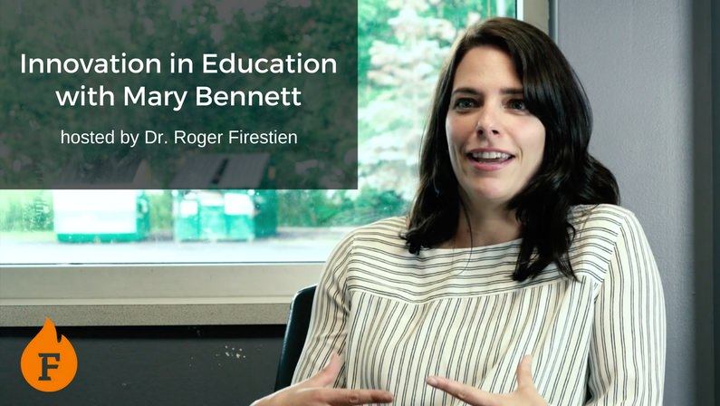 Video: Innovation in Education with Mary Bennett hosted by Dr. Roger Firestien