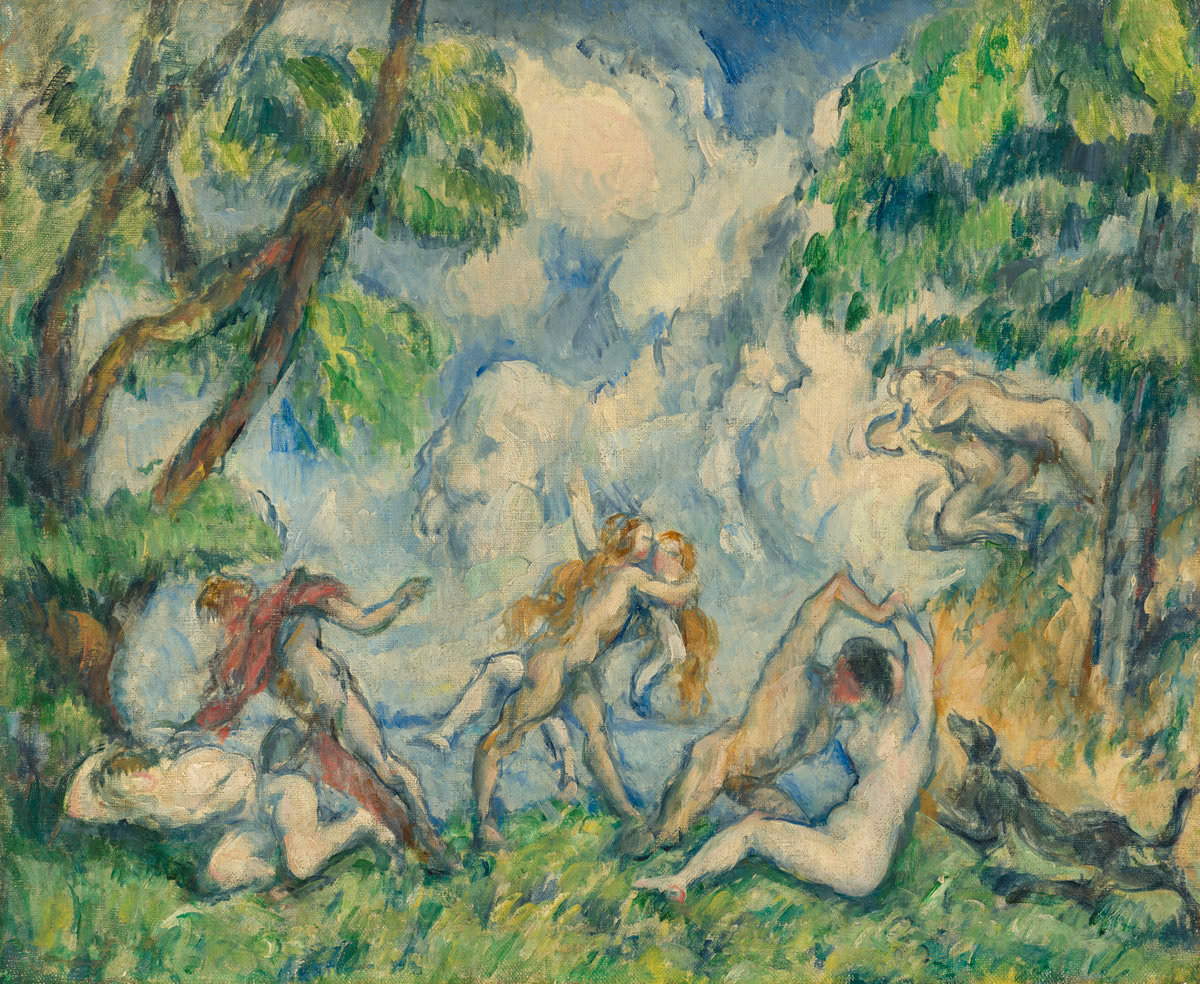 Paul Cézanne The Battle of Love