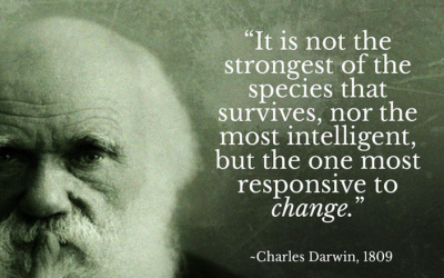 We Have Been Misquoting Darwin for Years