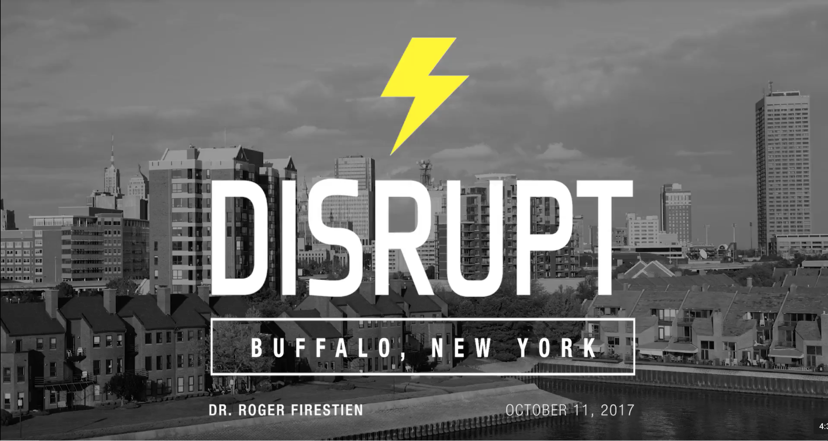 VIDEO: DISRUPT HR – Buffalo New York – Roger Firestien
